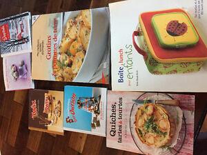 Livres de cuisine