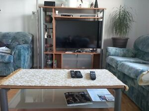 entertainment unit and table for sale