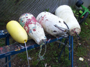 4 Fishing Buoys