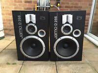 Jamo D266 twin speakers