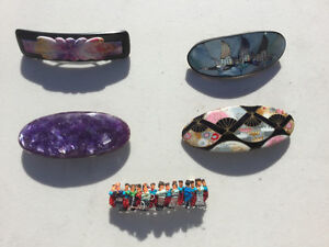 Decorative Hair Pins / Barrettes