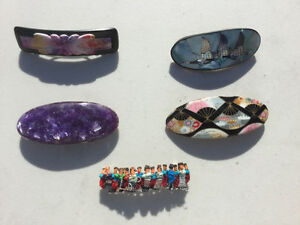 Decorative Hair Clips / Barrettes