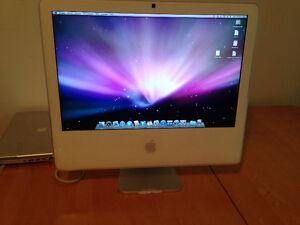 Apple iMac G5 et powerbook G4 15 pouces