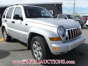 2006 JEEP LIBERTY LIMITED 4D UTILITY