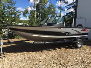 2016 Aluma Craft 185 Sport Fish and Ski