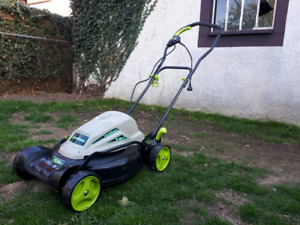 Lawnmaster electric lawnmower