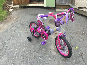 "Girls bike 14"" tinker bell"