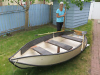 Folding Portabote - great cartop or transportable boat