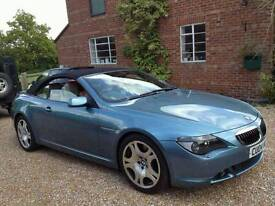 Bmw 645ci convertible breaking for all parts only 67k