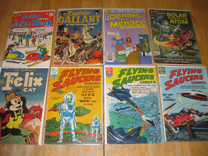 Golden Age comic books-10 and 12 cent covers