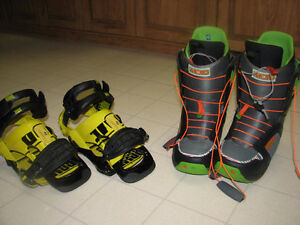 Boots and bindings for sale