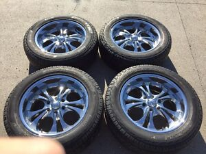 Great tires and rims for great price!