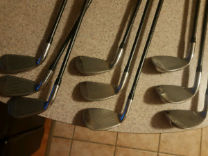 Diamond touch DR4E irons golf set.