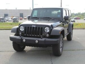 2017 JEEP WRANGLER Rubicon with Heated Seats, Navigation and Rem