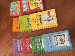 Diary of a wimpy kid & Dork diaries