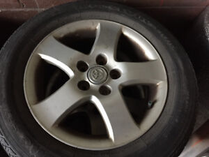 Toyota Camry Tires with mags