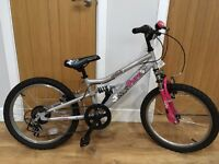 "Girls 20"" bike from Halfords - fantastic condition"