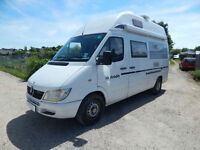 Mercedes-Benz La Strada Regent L 4 Berth Camper Van 2.2 cdi with FSH 2 owners