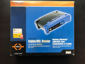 Linksys Cable/DSL Router with 8 Port switch BEFSR81