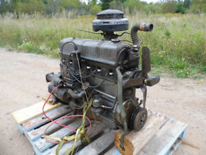6 cylinder motor and 3 speed standard trans