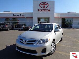 2013 Toyota Corolla CE ONE OWNER EXCELLENT CONDITION