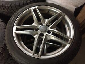 Mercedes Hivers  245- 40- R18  ( mags et pneus )