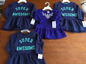 New! Cater's dresses size 9,18mths and size 2