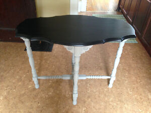 Refinished Vintage Entry Table