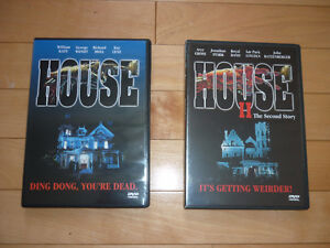 HOUSE 1 et 2 en DVD