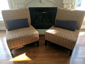 Custom made accent chairs