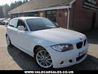 2011 11 BMW 1 SERIES 118D M SPORT 5DR £1,310 OF EXTRAS DIESEL