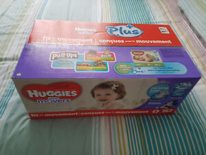 Couches Huggies little movers