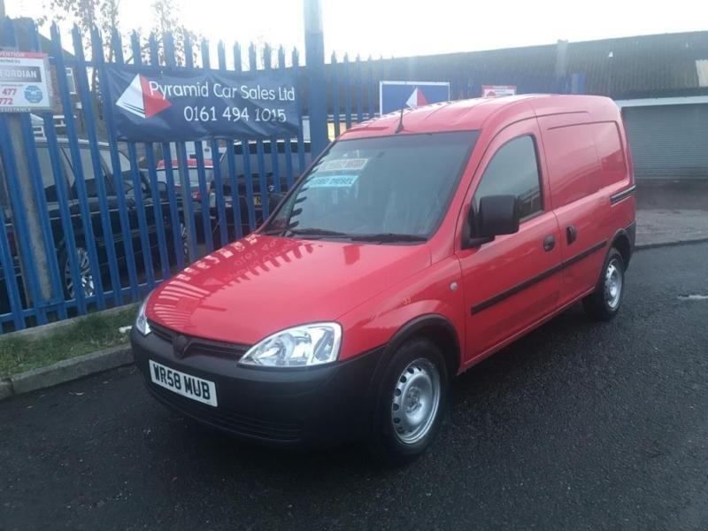 c4fcd8a1e0 2008 Vauxhall Combo 1.3 CDTi 16v 1700 Panel Van 3dr Diesel Manual (134