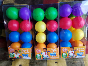 Brand new three boxes of balls total 48 for  $15.