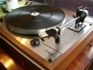 THORENS TD 165 TURNTABLE with cartridge