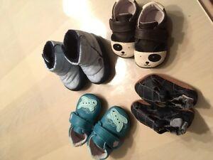 Baby Boy 6-12 mth Footwear - $60 ono