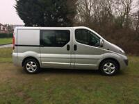 2013 Vauxhall Vivaro 2.0CDTi ( 115ps ) Crew Van 6 Seats 2012MY Sportive 2900 SWB