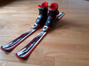 Kids Skis and Boots Set