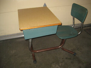 Vintage School Desk, Classroom Desk