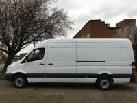 2013 63 MERCEDES-BENZ SPRINTER 2.1 313CDI LWB HIGH ROOF 130BHP. VERY LOW 55,000