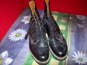 Police Boot all leather men's size 7