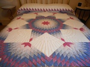 Quilt: Hand made Lone Star Quilt