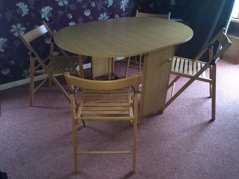 table with 4 chairs in peterborough cambridgeshire gumtree