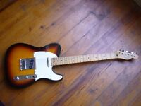 New Telecaster Affinity Series with Fender Amp