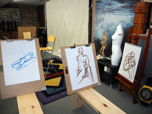 Looking for Life Drawing Model (Male or Female)