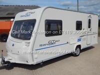Bailey RANGER GT60 510/4, 2010 Model, 4 Berth, End Washroom, Centre Dinette, VGC