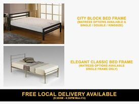 Brand New Quality Single \ Double \ Kingsize Metal Bed Frames from £49 ( Frame Bedroom Furniture )