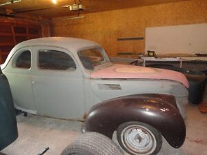 1939 FORD COUPE HOT ROD PROJECT