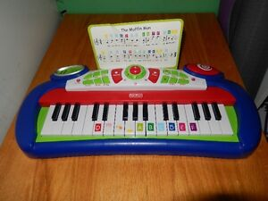 piano a batterie fisher price