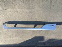 Honda Civic type r/s 3 door 2001-2005 silver passenger side skirt